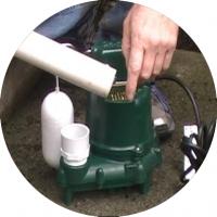 Sump pump solution